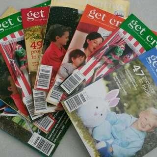 GET CREATIVE magazines