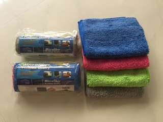 Premium Quality Microfibre Cloth - very soft, durable and high water absorbent