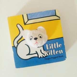 Finger Puppet Book - Little Kitten