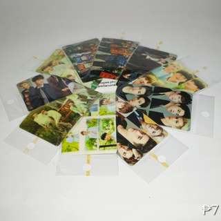 EXO CARD STICKERS