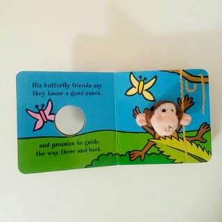 Finger Puppet Book - little monkey