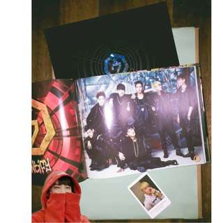 ON HAND UNSEALED ALBUM GOT7 IDENTIFY ALBUM