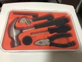 IKEA 17件工具盒套裝
