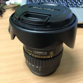 Tokina 11-16mm f2.8 AT-X Pro DXII (Canon Mount)