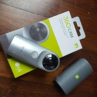 LG 360 virtual reality VR action camera
