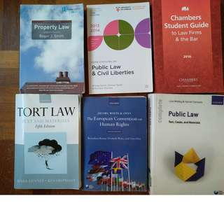 Law Books, Statute Books, Textbooks