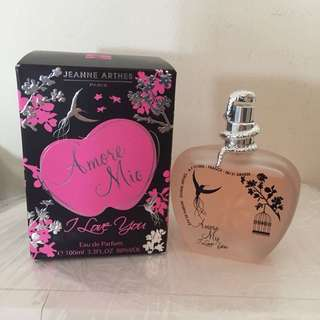 Jeanne Arthes Amore Mio I love you perfume