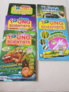 Young Scientists (4 Level 3 & 1 Level 4)