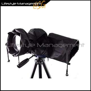 Camera Protector Rain Cover Rainproof for DSLR with Flash mount(Cannon/Sony/Nikon/Pentax/Leica)