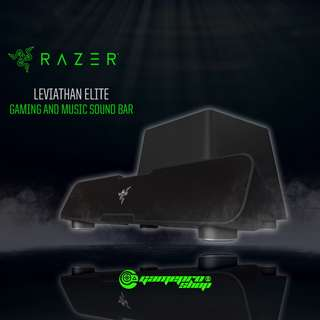 Razer Leviathan – Elite Gaming and Music Sound Bar (RZ05-01260100-R3A1)