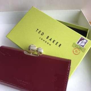 全新 Ted Baker 紅色銀包 購於英國