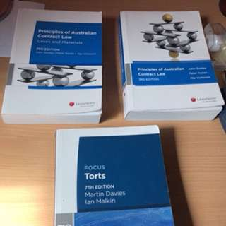 Principles of Australian Contract Law & Focus Torts