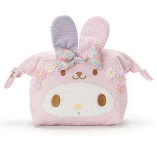 Japan Sanrio Easter 2018 My Melody Pouch (pastel Usagi)