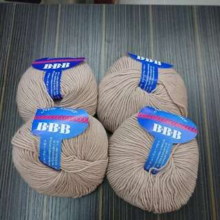 意大利羊毛冷 50g  x 4pcs