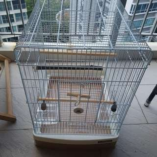 Value for money spacious Bird cage - SANKO EASY HOME - BROWN