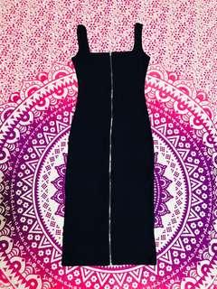 Zip Midi Dress