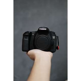 Canon 60D with 3 batteries