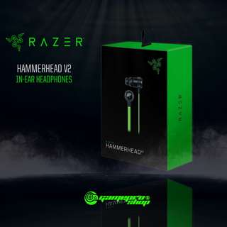 Razer Hammerhead V2 In-Ear Headphones (RZ12-01730100-R3A1)