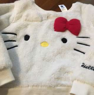 Scenrio Hello kitty sweater 1 1/2 -2 years