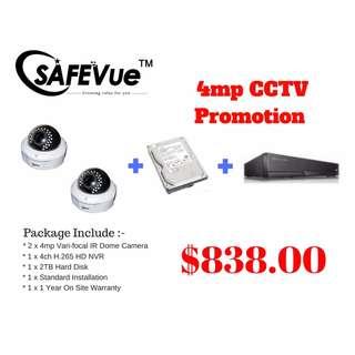 4MP CCTV Package 2