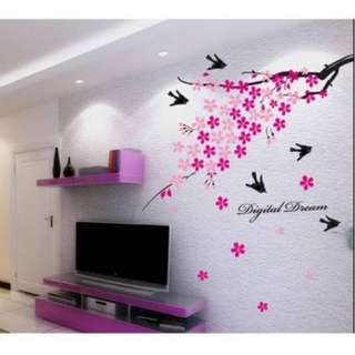 Cherry Blossom Wall Decal Sticker