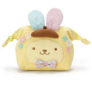 Japan Sanrio Easter 2018 Pompompurin Pouch (pastel rabbit)
