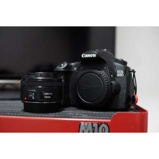 Canon 60D with 50mm 1.8