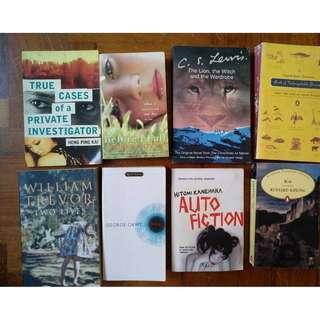 Books, Novels, Thrillers, Classics