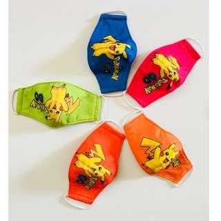 Anti Dust Pokemon Children Fabric Mask