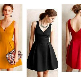 Elegant Formal Plain Swing dress