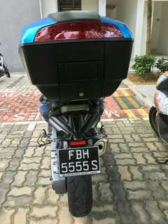 Number Plate Number Plate FBH 5555S GOLDEN NUMBER