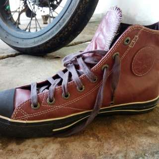 Converse Chuck Taylor All Star Chocolate Hi Leather