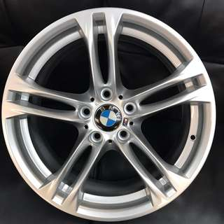 "Used original staggered BMW F10 18"" wheels"