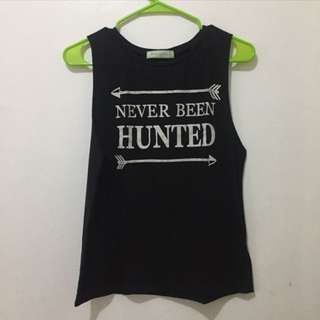 Never been hunted muscle tee