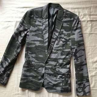 Zara Camouflage Blazer