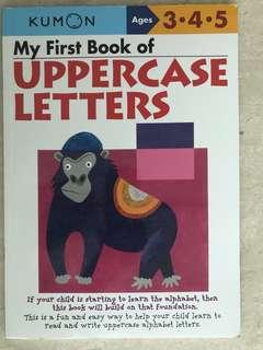 KUMON UPPERCASE Letters