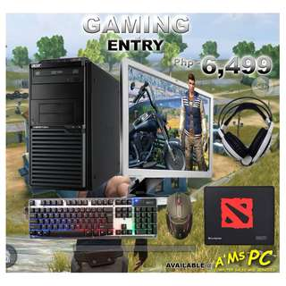 Gaming Entry Package