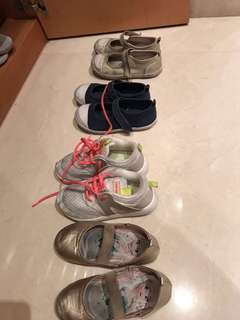 Kids shoes(Zara,seed, H&M) $15 for all