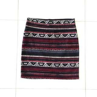 Cotton On tribal skirt