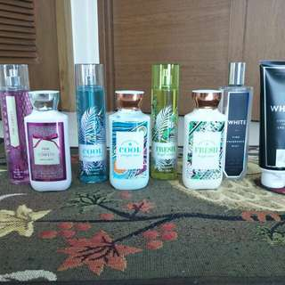 Bath & Body Works Fragrance Mist and Lotion