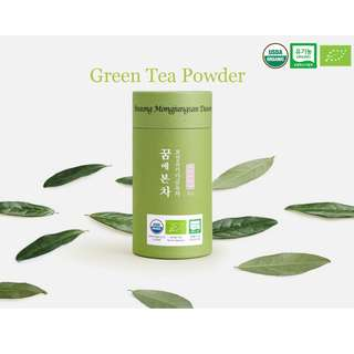 Mongjungsan Organic Matcha (Green Tea Powder) 50 grams