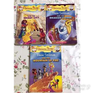 Geronimo/Thea Stilton Books
