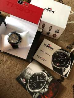 Tissot t race touch watch