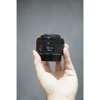 Canon 50mm STM F1.8