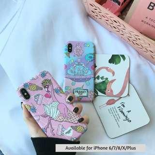 (PO) Cute Flamingo/Spaceship/Candy Mixer Phone Casing
