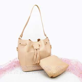 PhoebesXM2 2in1 High Quality multi Bucket sling bag 0547