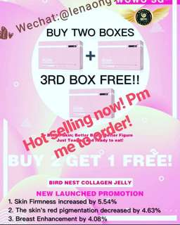 Cubilose collagen jelly( Promo buy 2 get 1 free)