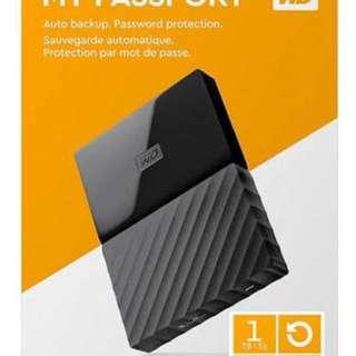 Western Digital MyPassport 1TB