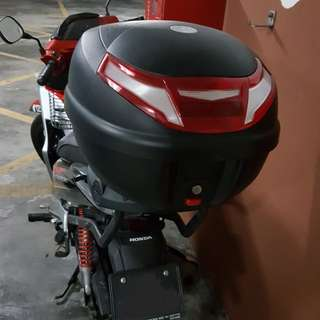 Givi box rarely used