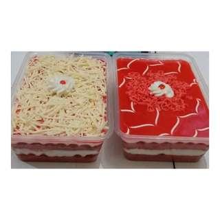 Cake lumer red velvet